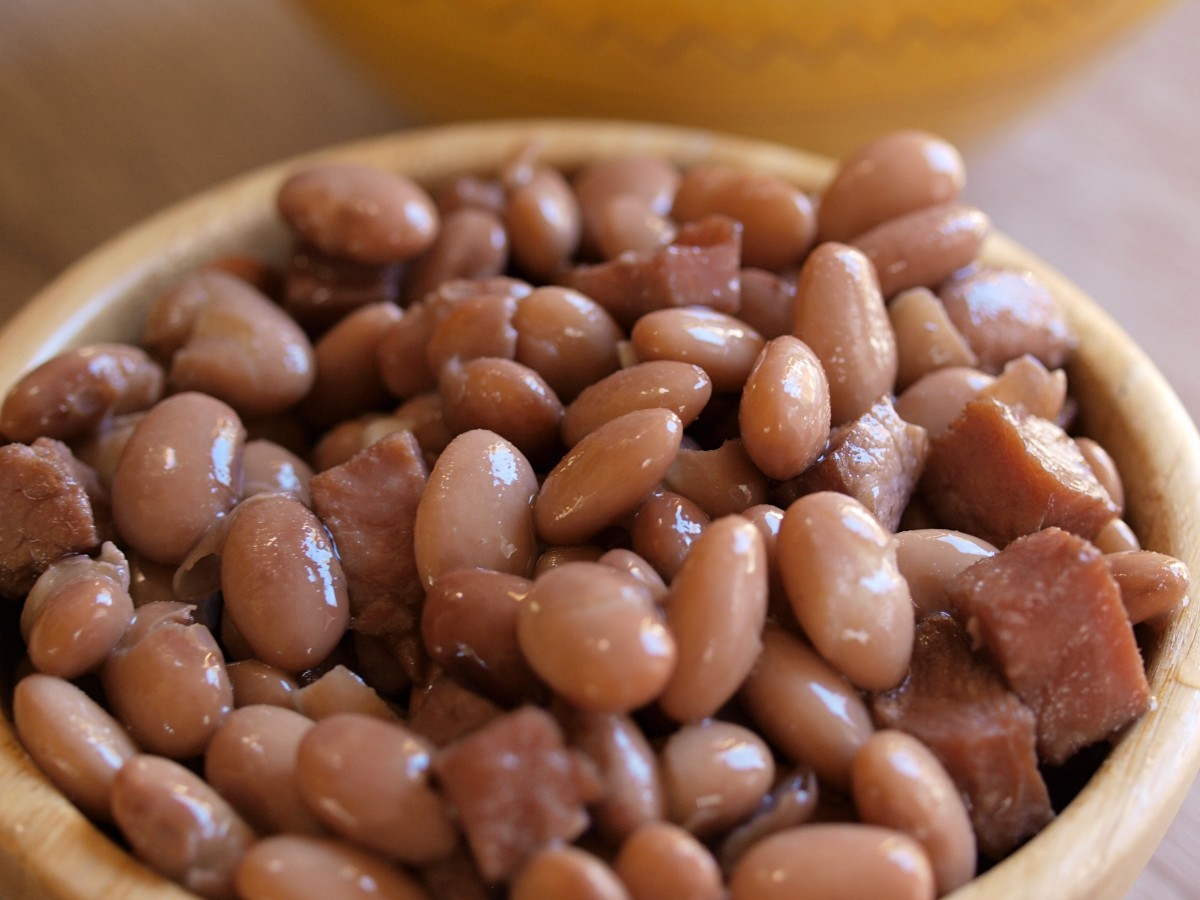 Beans are an excellent plant-based protein source of the essential amino acid histidine.