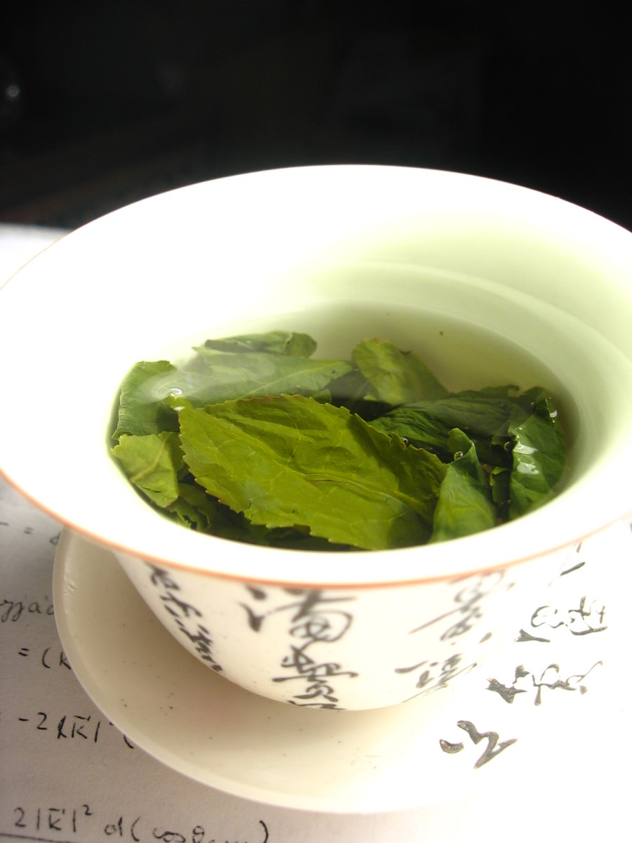 Chinese Green Tea  Author: Wikimol