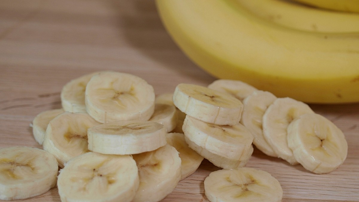 I ate bananas for breakfast, either alone or on toast with peanut butter.