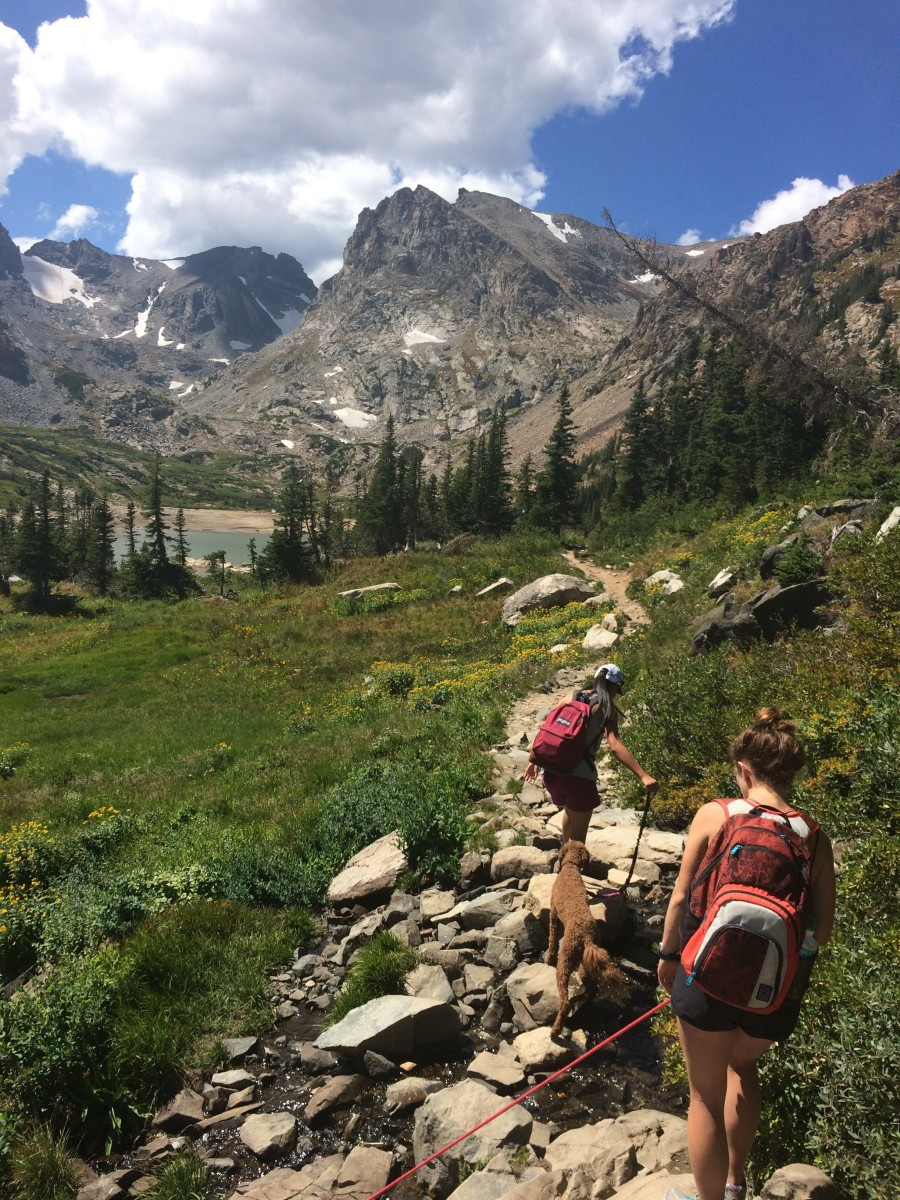 Hiking in Indian Peaks Wilderness, Colorado