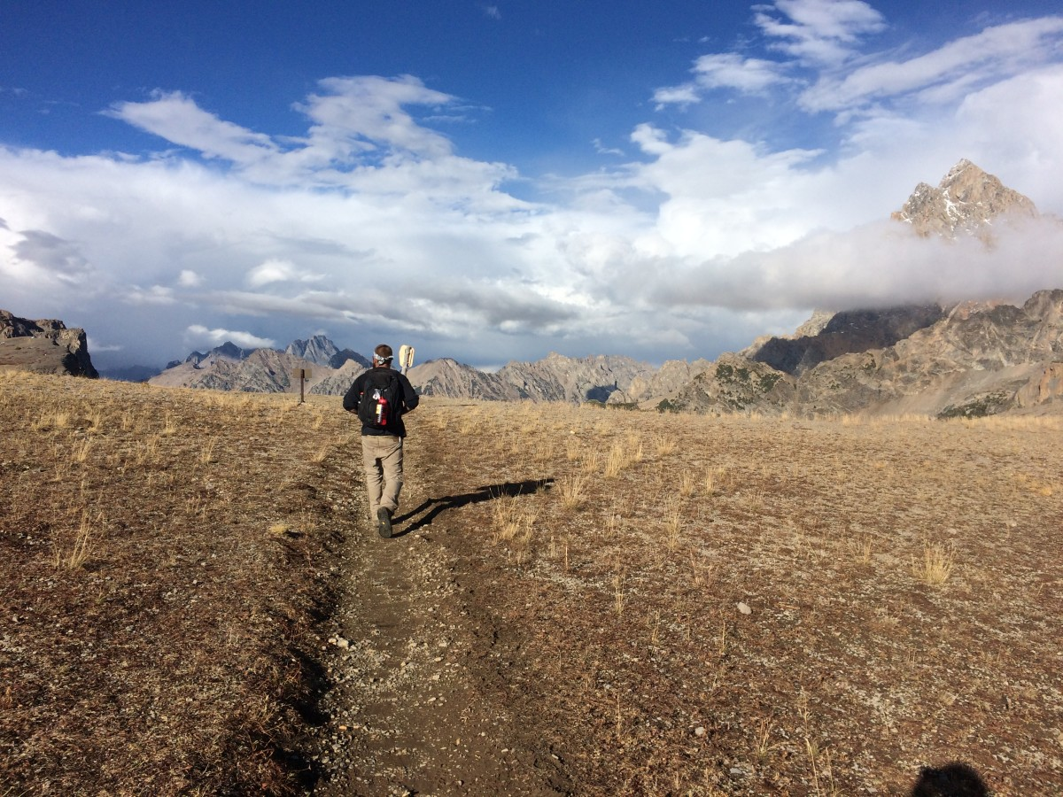 Following my friend Alex as he found and planned an epic loop trail in the Tetons
