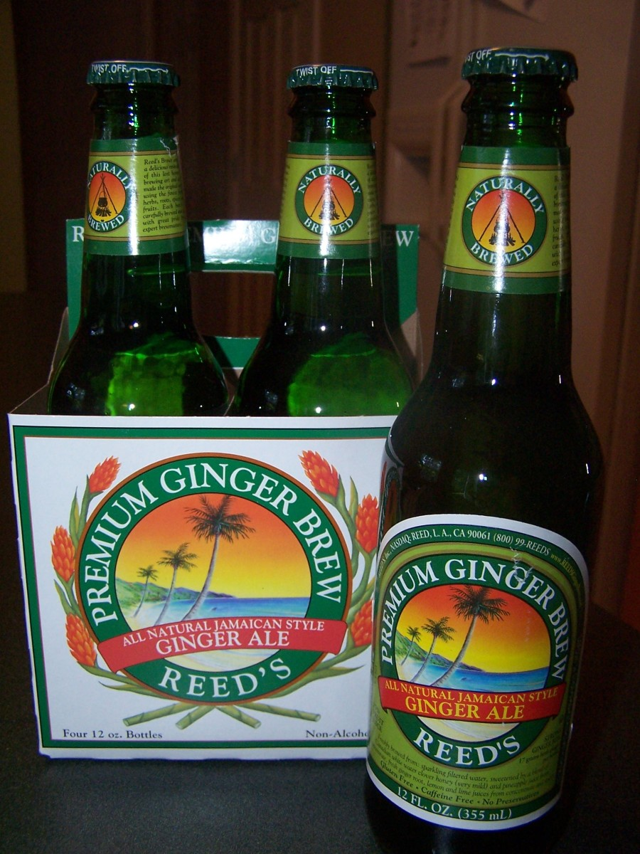 Ginger Ale is a good source of ginger, but be sure to read the label and get a ginger ale that contains real ginger, not ginger flavoring.