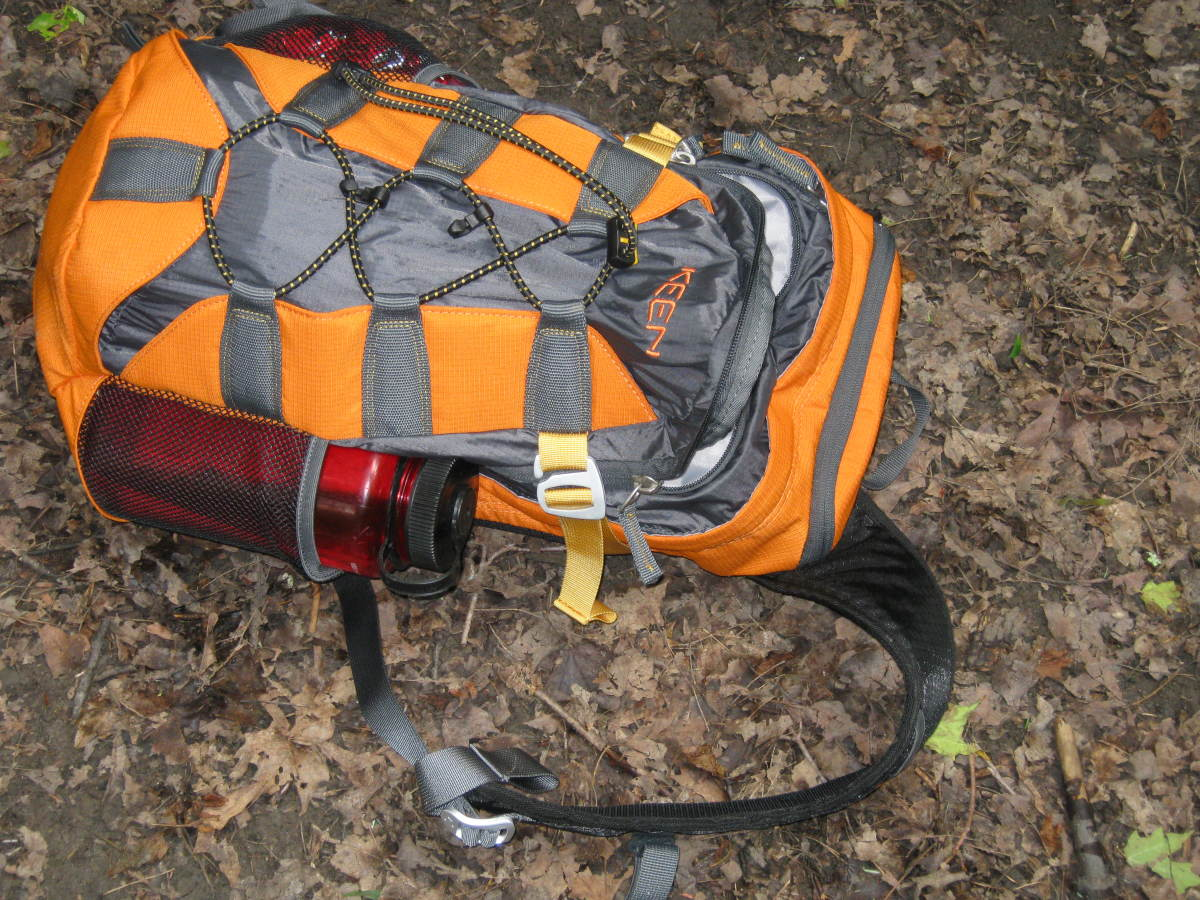 A small day pack is essential for carrying hiking essentials.
