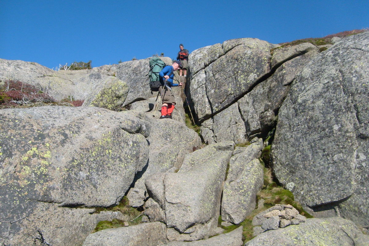 To burn more calories hike over more rugged terrain and carry heavier packs.