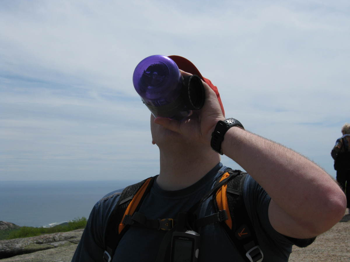 Make sure you keep yourself well hydrated by drinking plenty of water before, during, and after the hike.