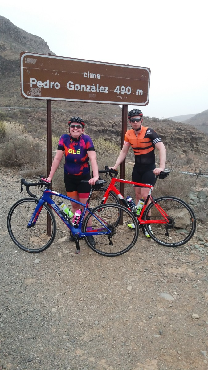 The Cima Pedro Gonzalez a short ride from Maspalomas with our Free Motion hire bikes