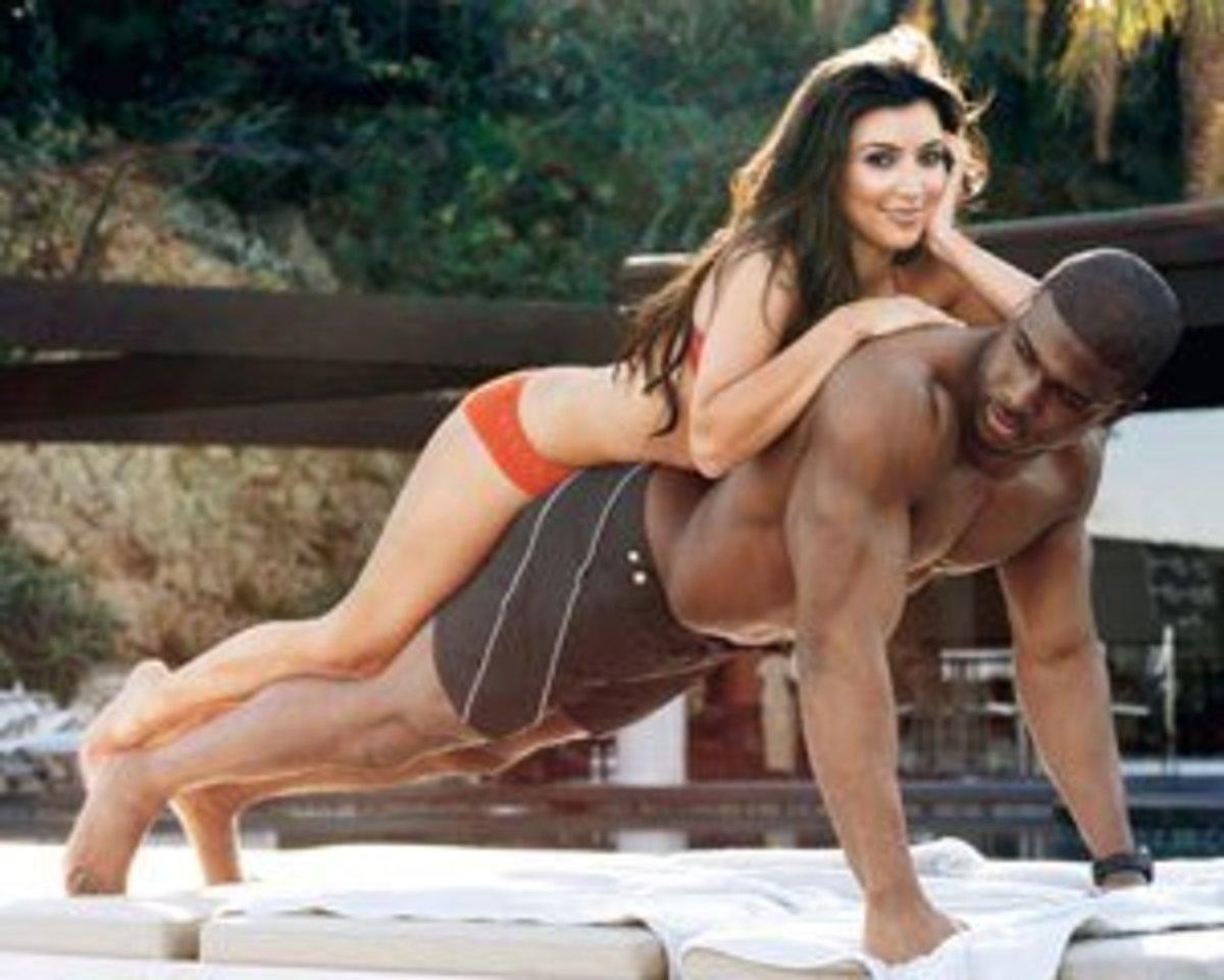Kim Kardashian adding weight to Reggie Bush...