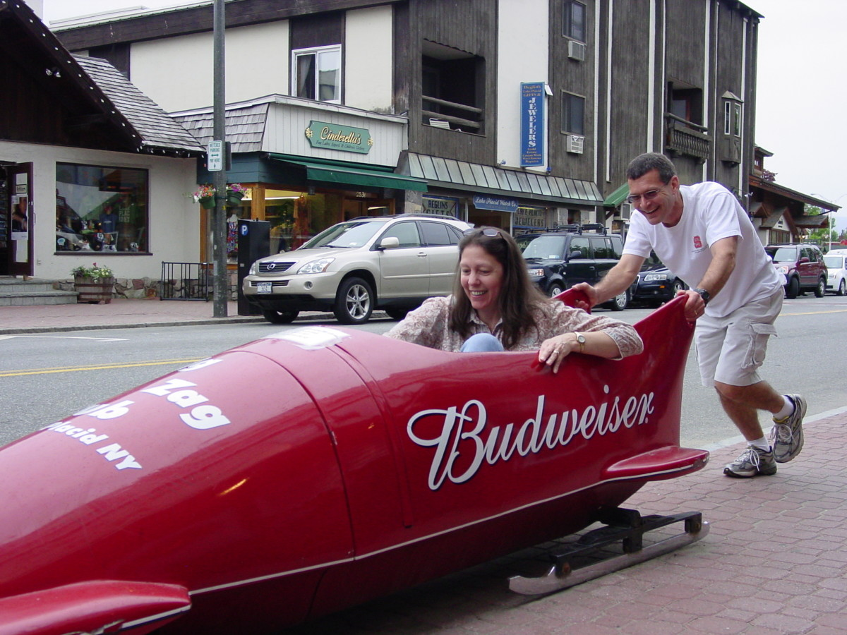 Bobsledding anyone?
