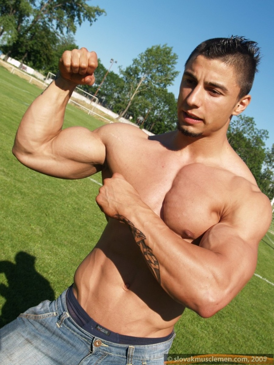 Keep on working out with P90X or Insanity if you want to get a ripped lean body.