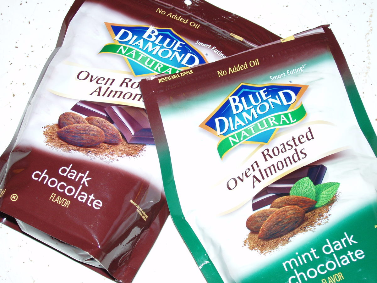 Almonds make wonderful, filling snacks.