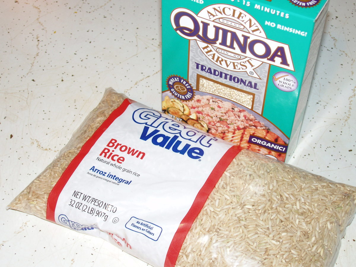 Whole grains should be a large portion of the diet and unprocessed as well.