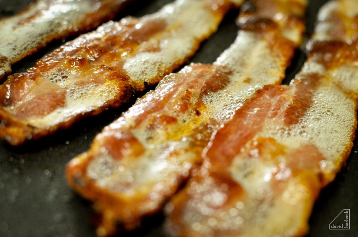Oh bacon, I miss you already...