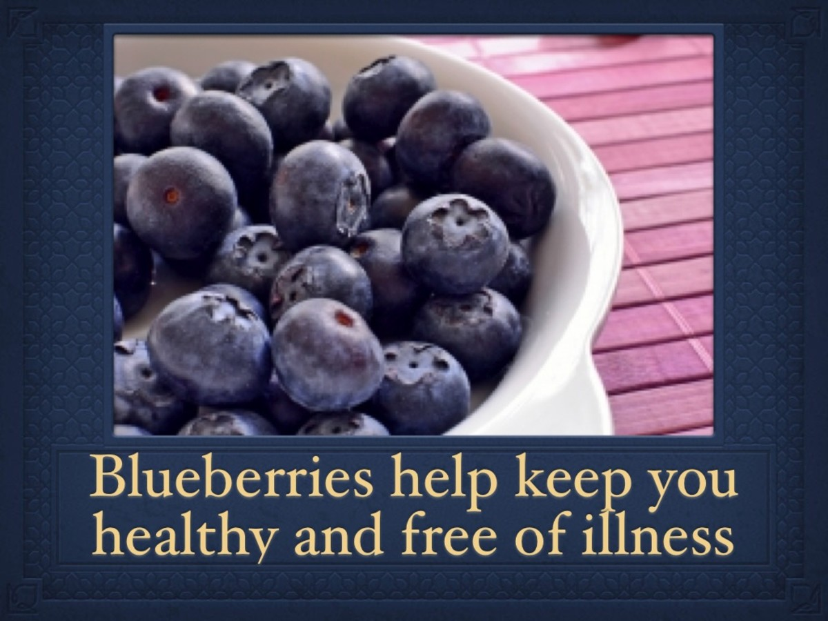 Keep colds and other illnesses away with a daily serving of blueberries.