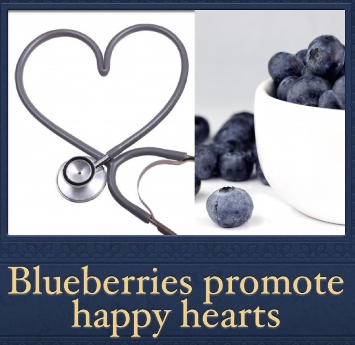 Blueberries support healthy blood and promote strong heart muscle tissue.