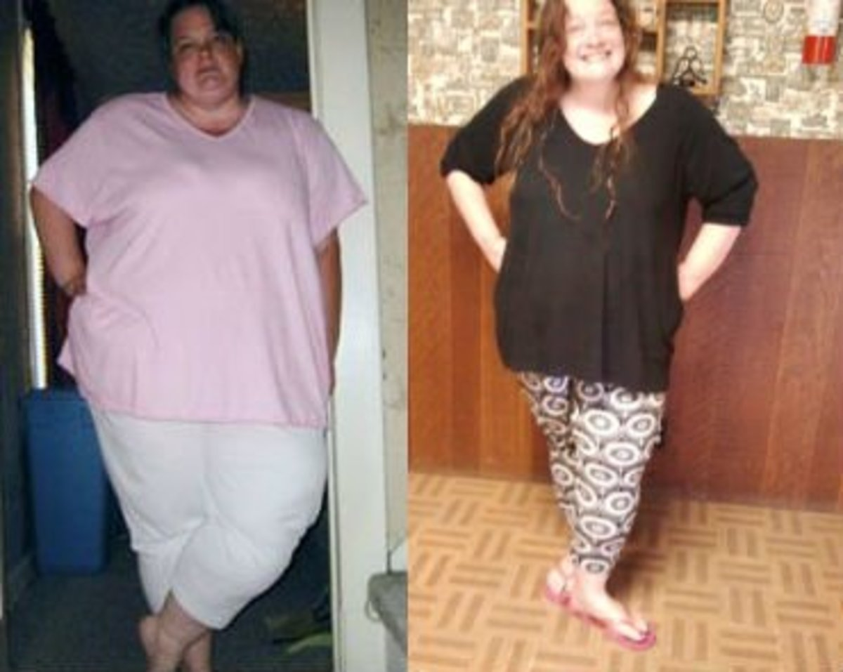 2005 to 2012 - 150 pounds gone.