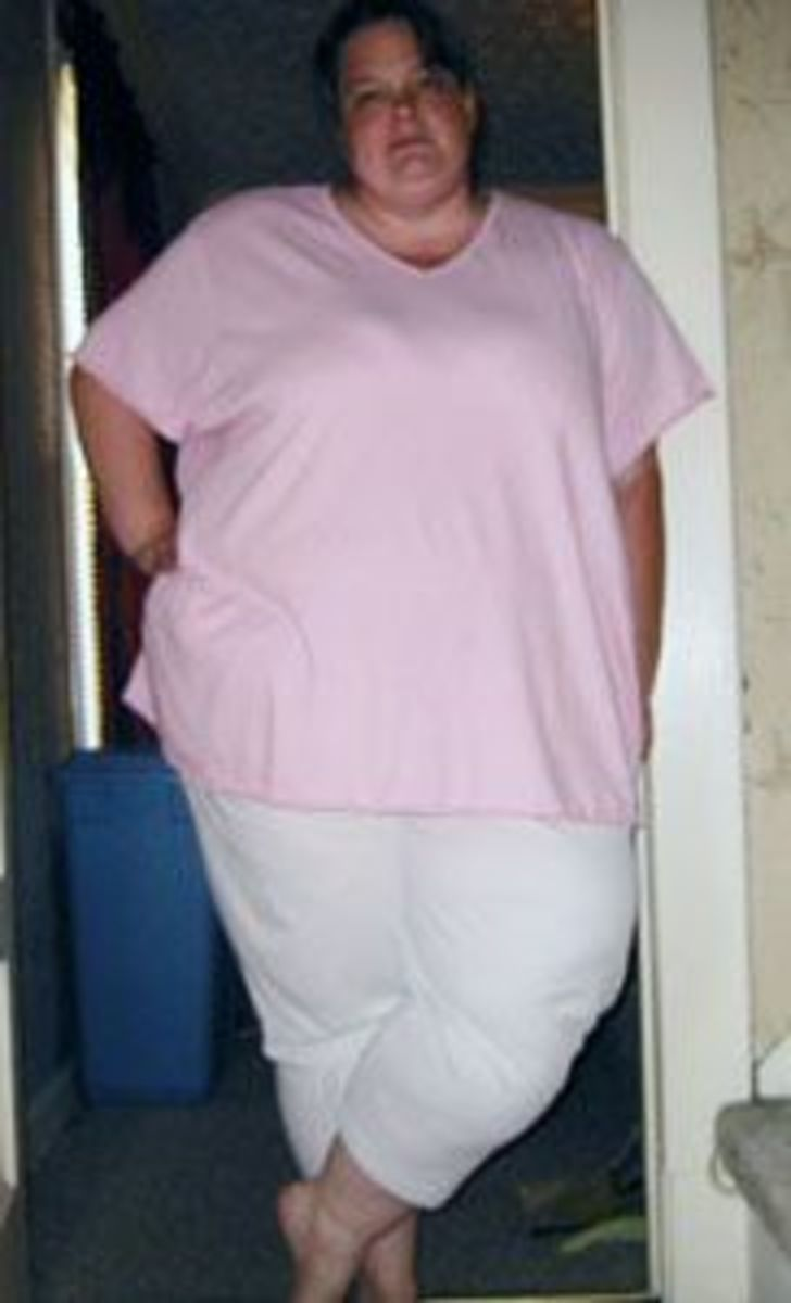 MId-2005, right around 400 pounds.