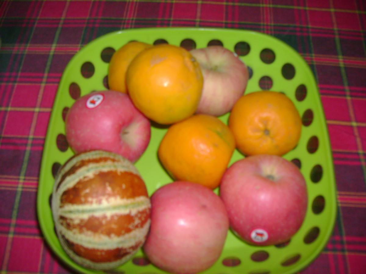 Fiber power - fresh fruit