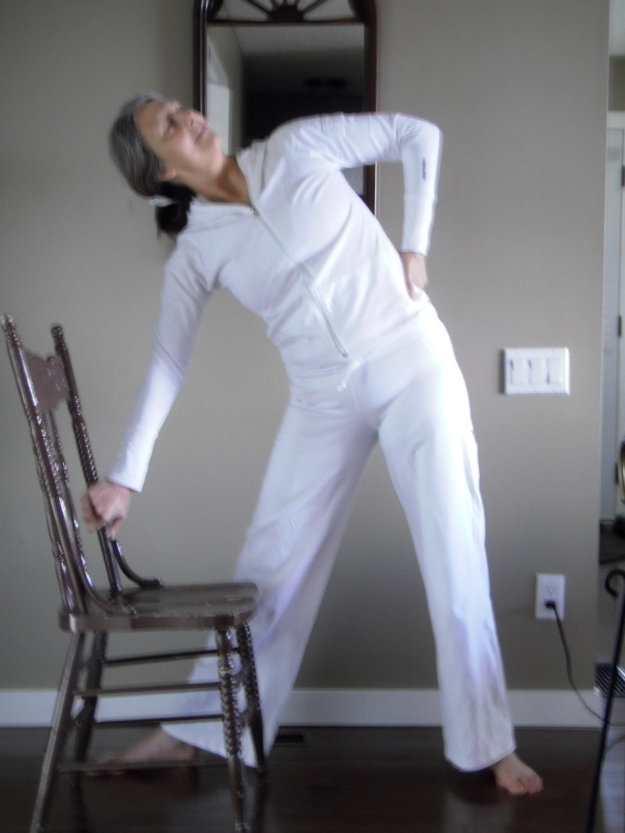 Triangle strengthens the legs and balance, and tones the waist.