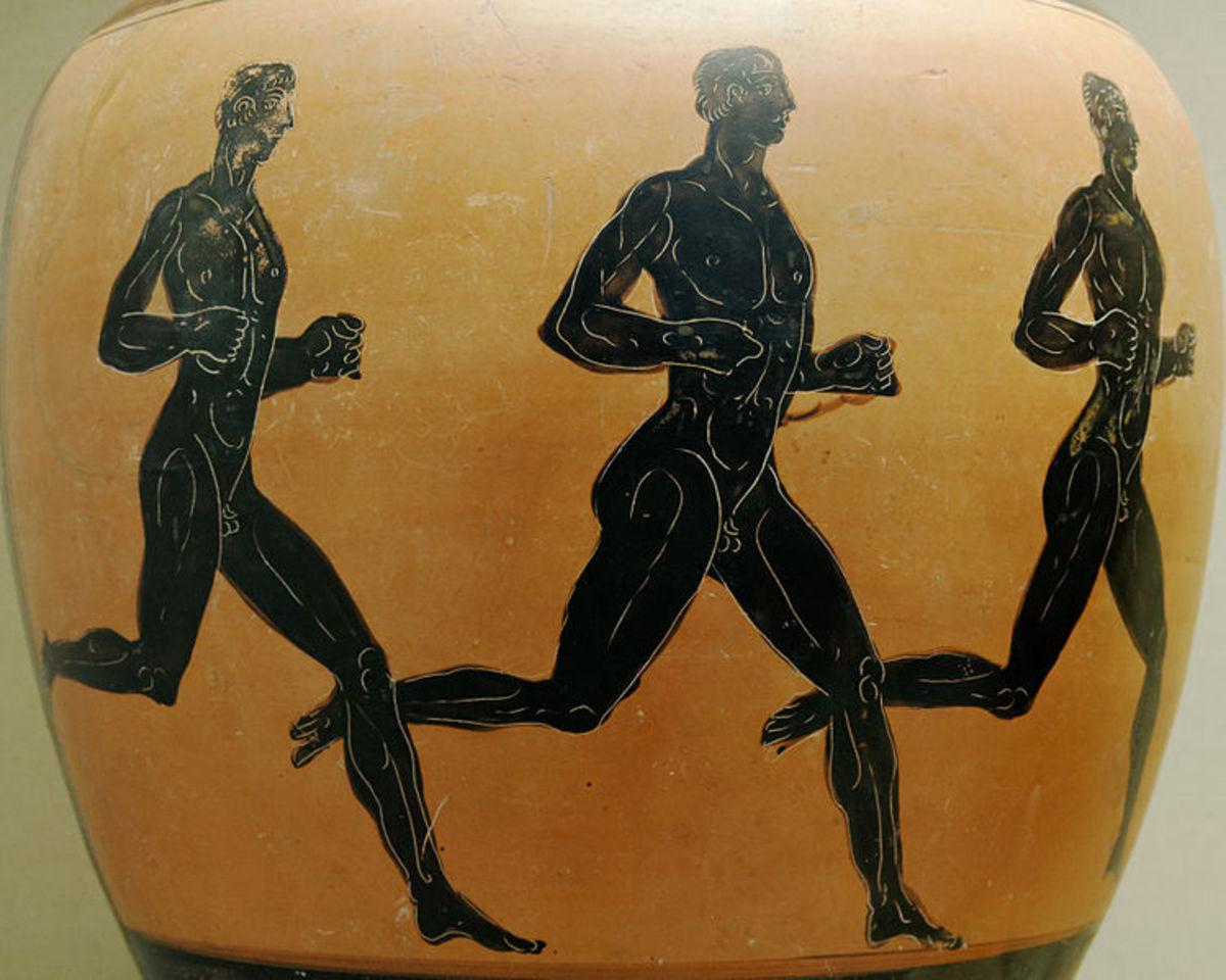Men & women have been running for centuries.