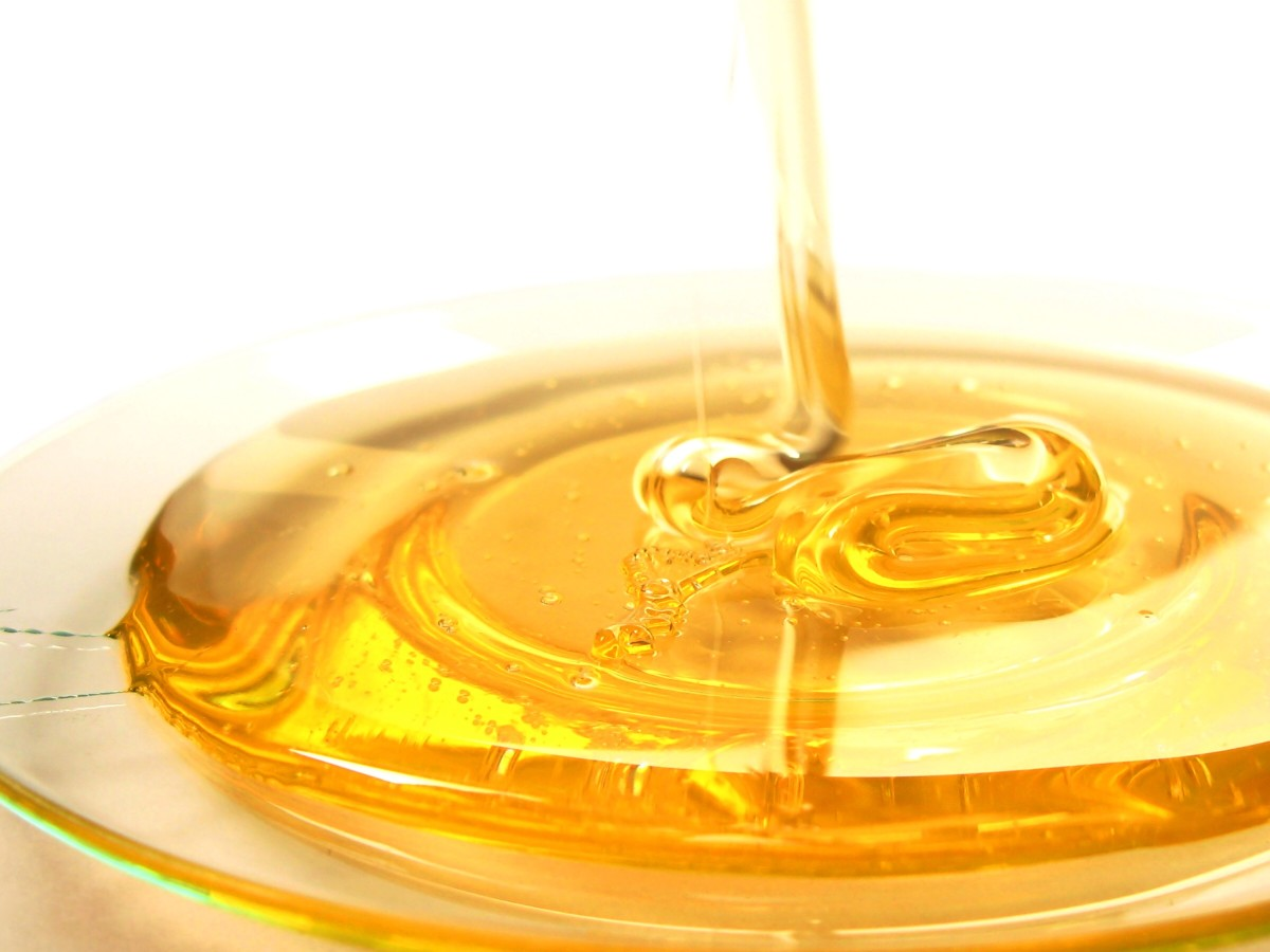 Like gum benzoin, honey contains benzoic acid.