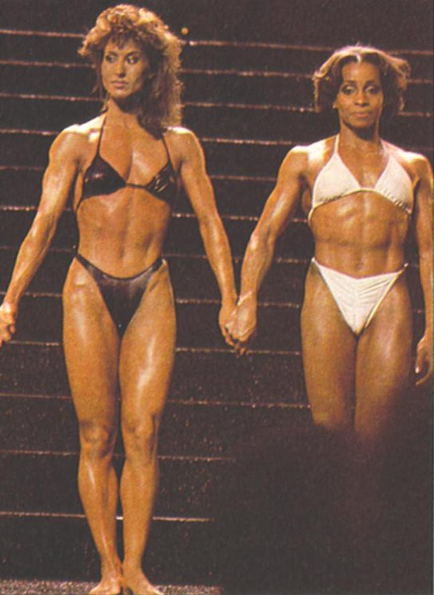 Rachel Mclish & Carla Dunlap