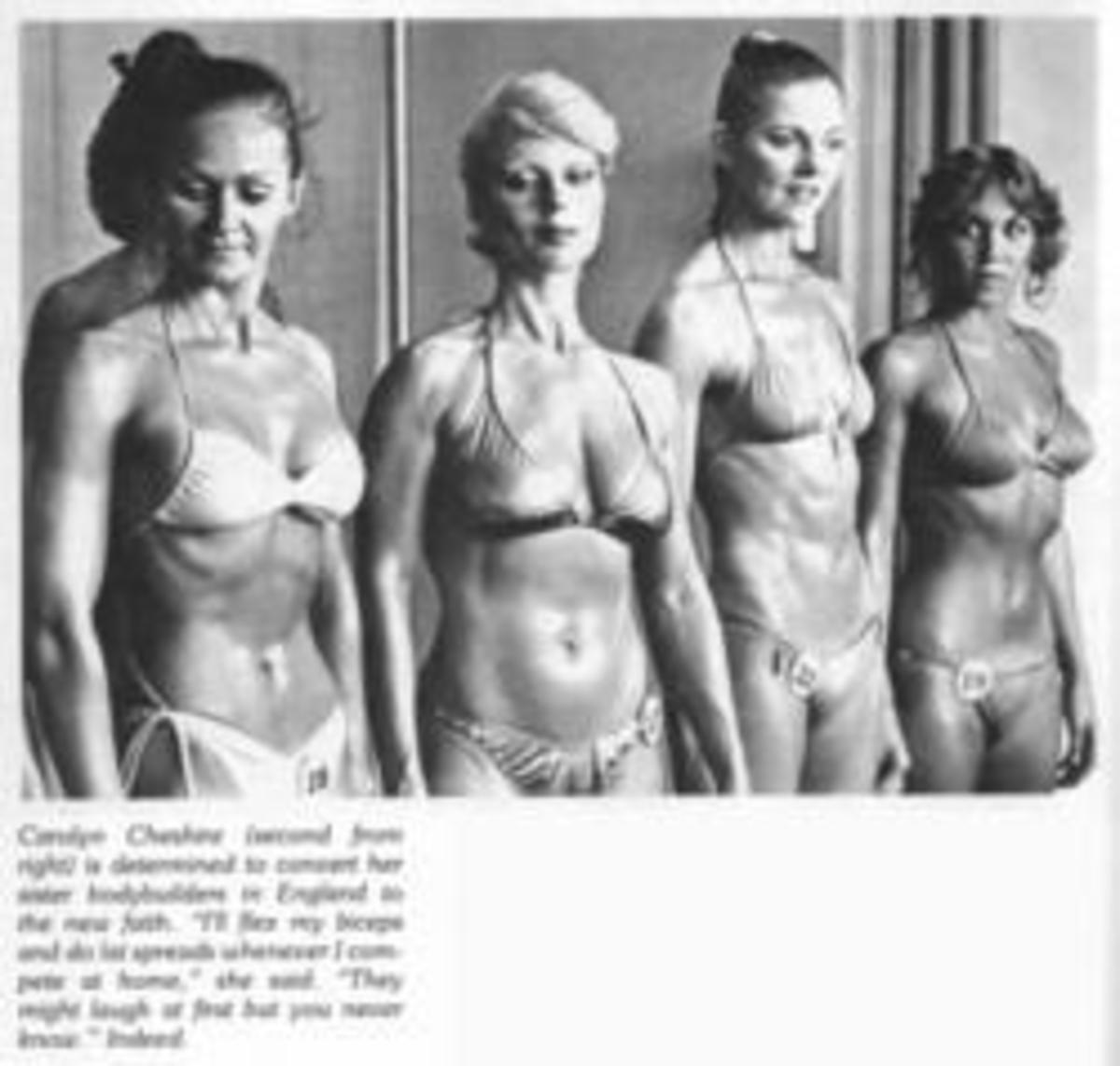 Late '70s Women's Bodybuilding Contest.