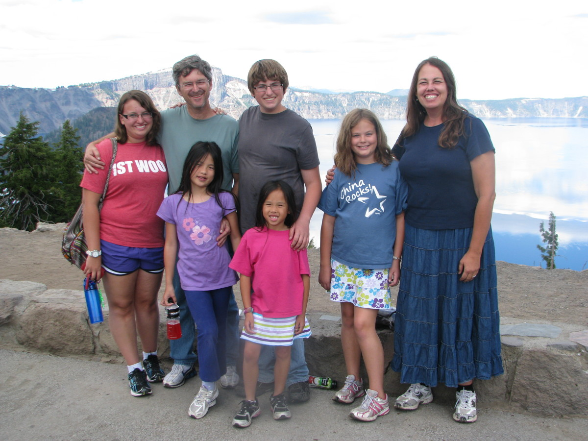 My Before Photo: Here I am with my family on vacation in 2011.  Hiking on this trip was hard and I realized I needed to finally buckle down and lose weight.  So I started using MyFitnessPal.