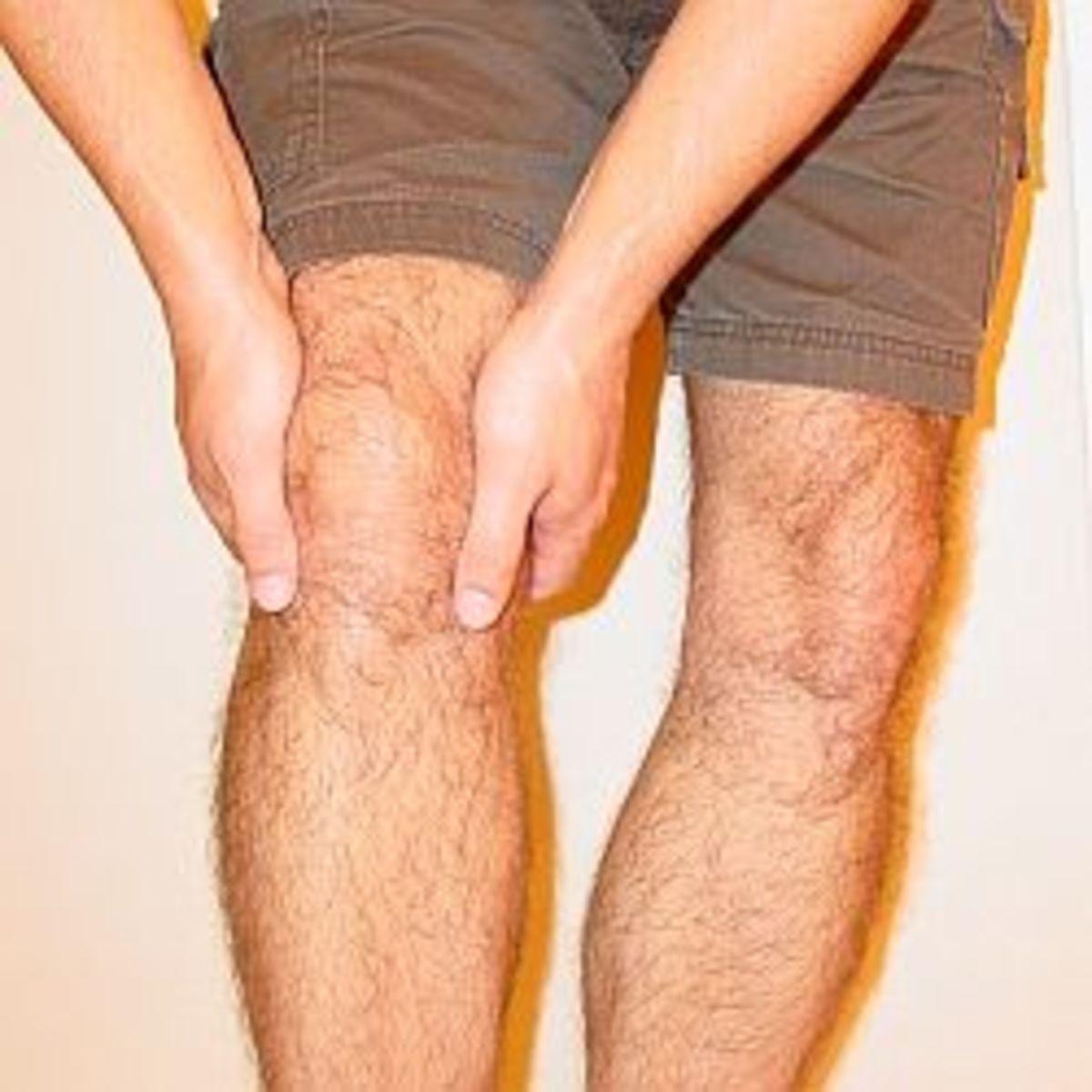 My Knee (Photo Credit Dorian)