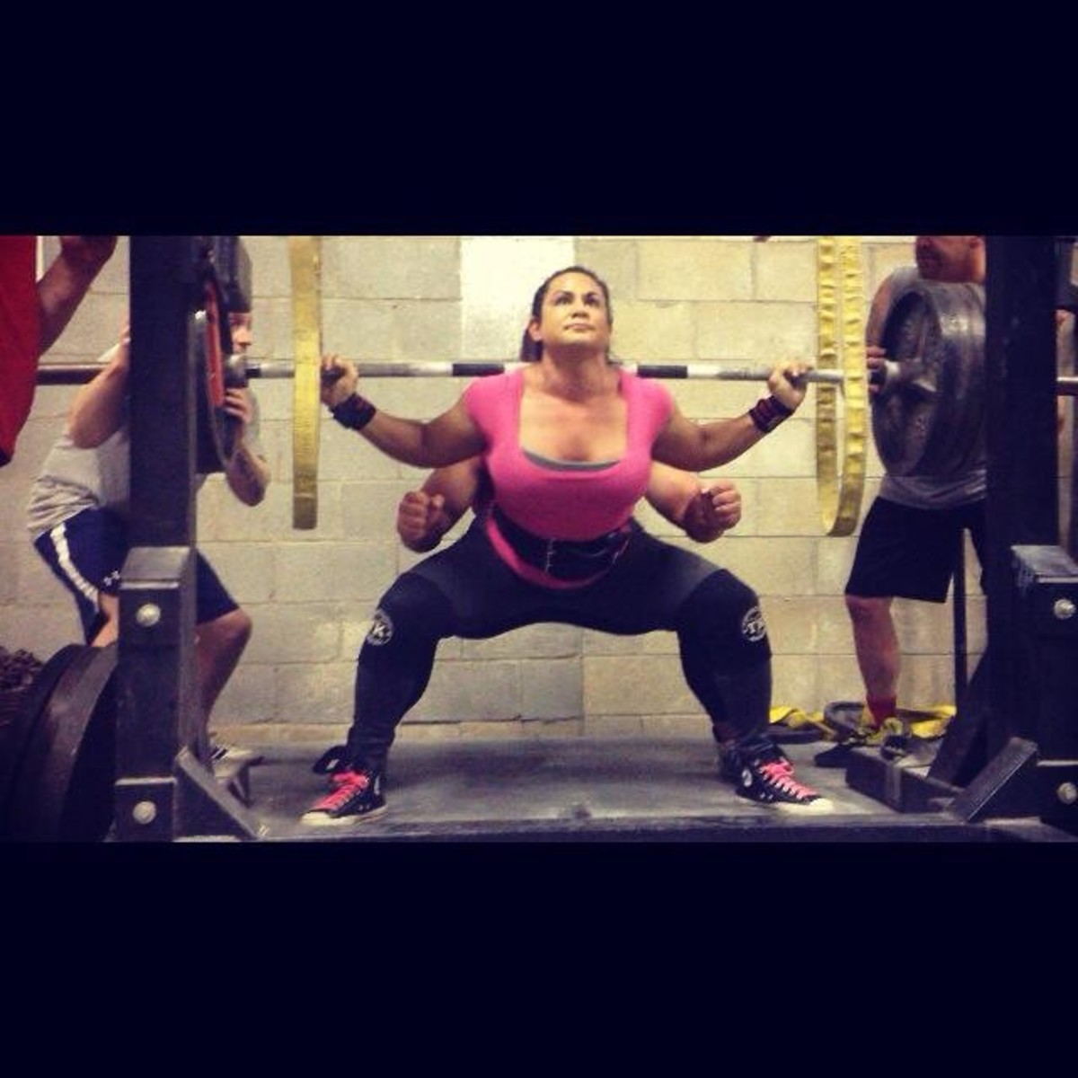 standing hack squat machine