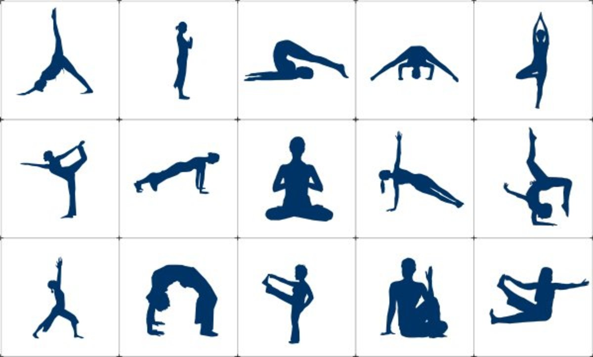 Beginning and advanced yoga poses have many benefits