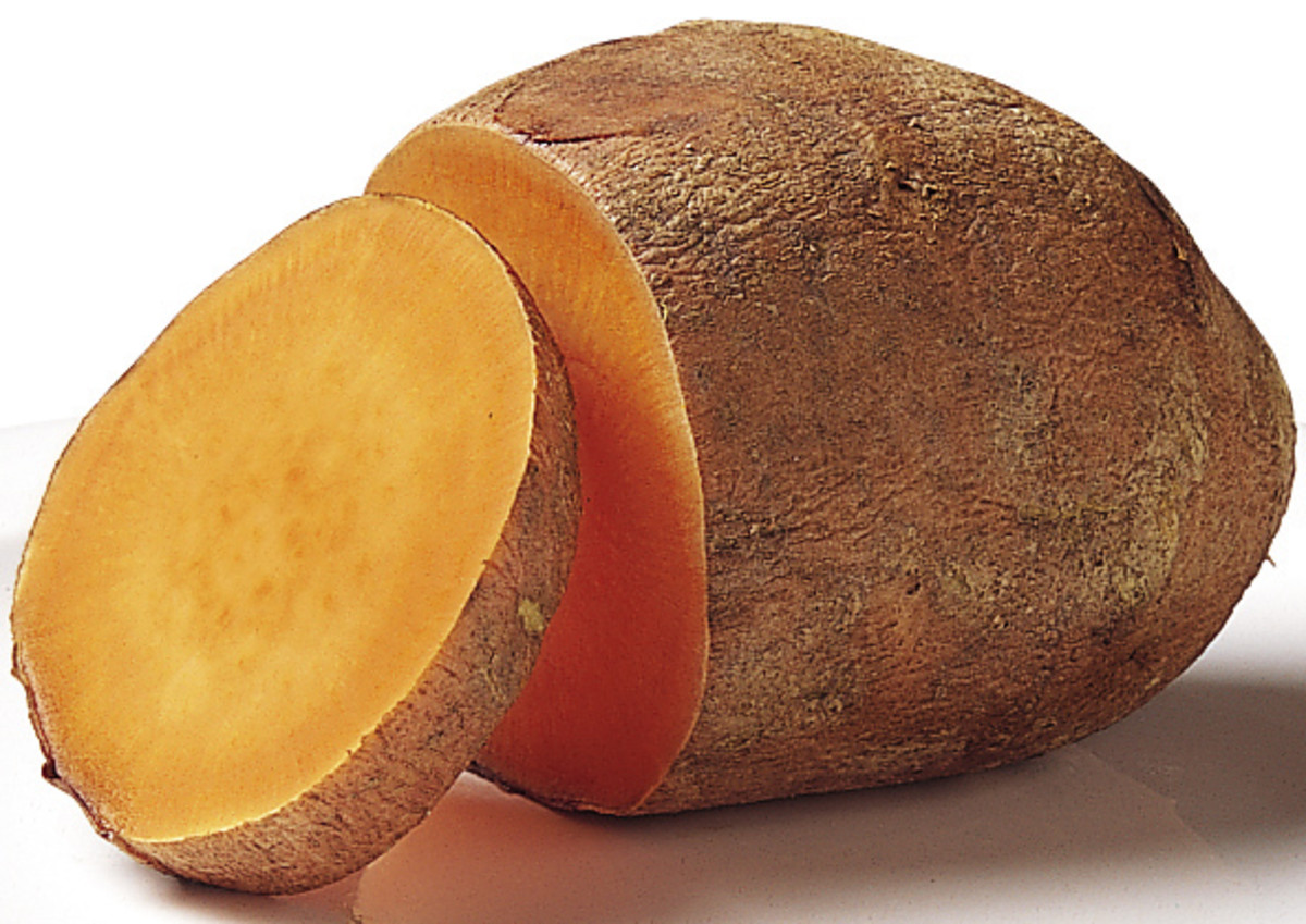 orange fleshed sweeet potato