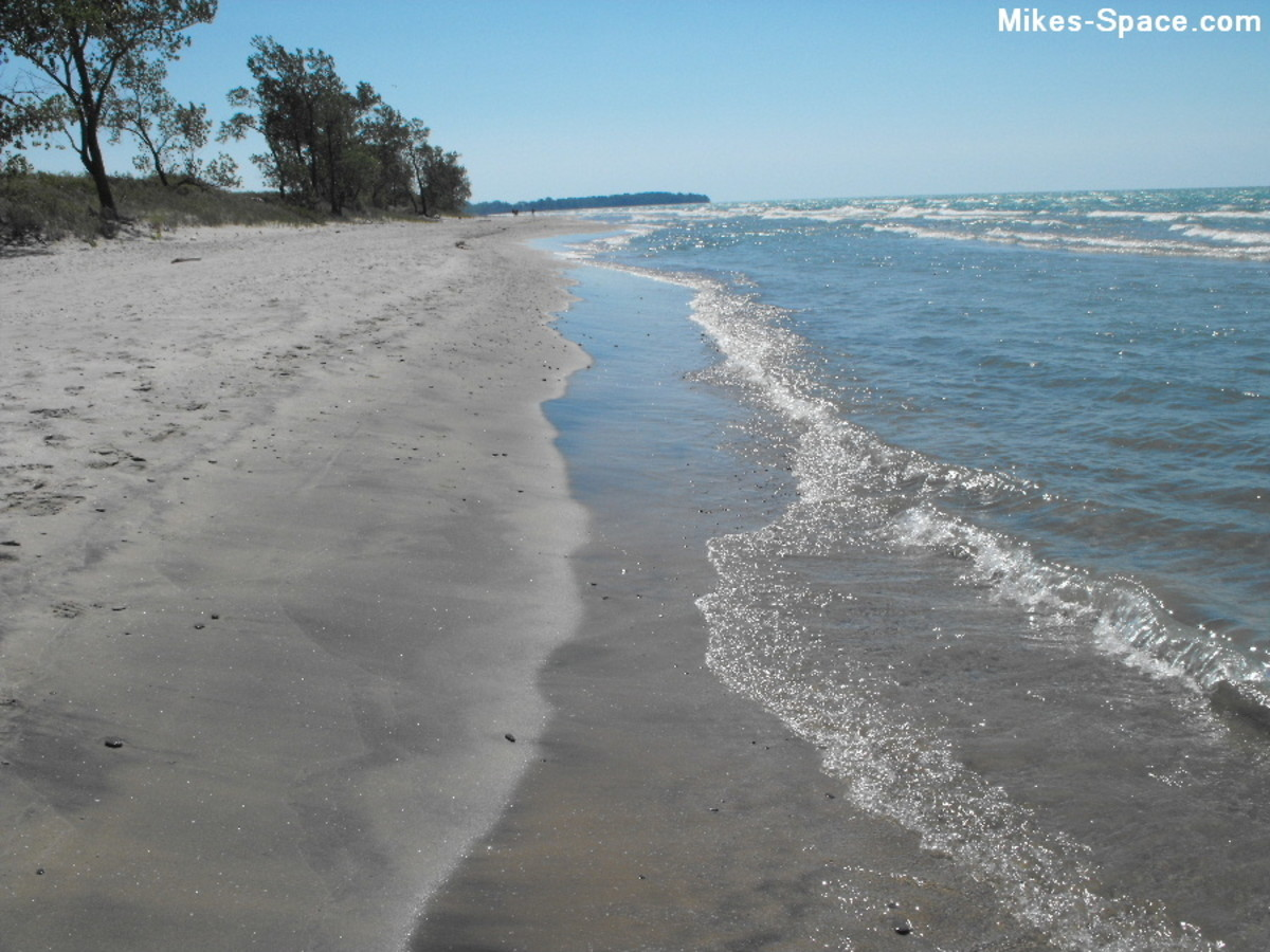 One of three beaches at Sandbanks Provincial Park.