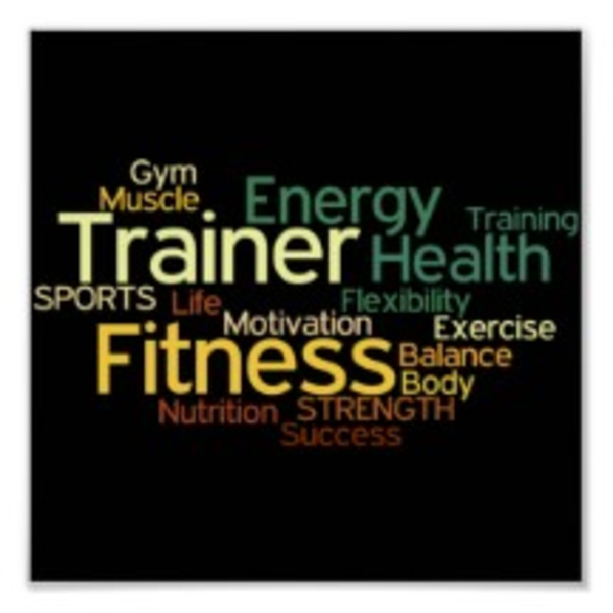 Trainer Fitness Energy Health Post6er