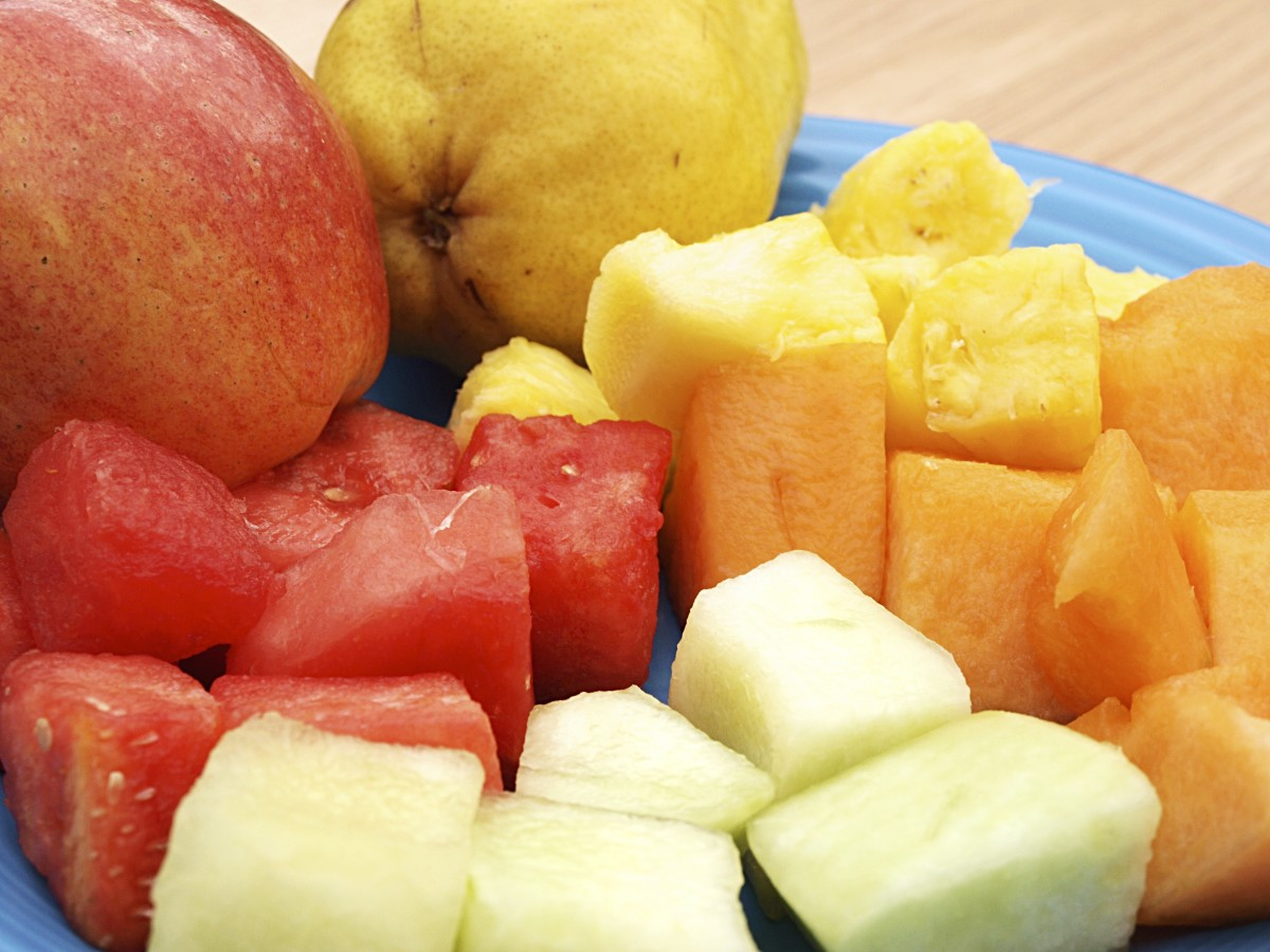 On day one of the GM diet, eat water-based fruit (no bananas).