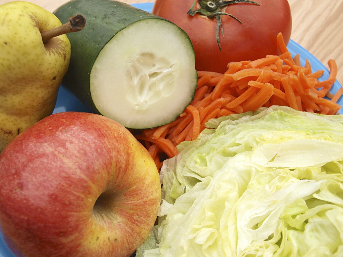 Day three of the General Motors diet consists of fruits and vegetables—minus the bananas or potatoes.