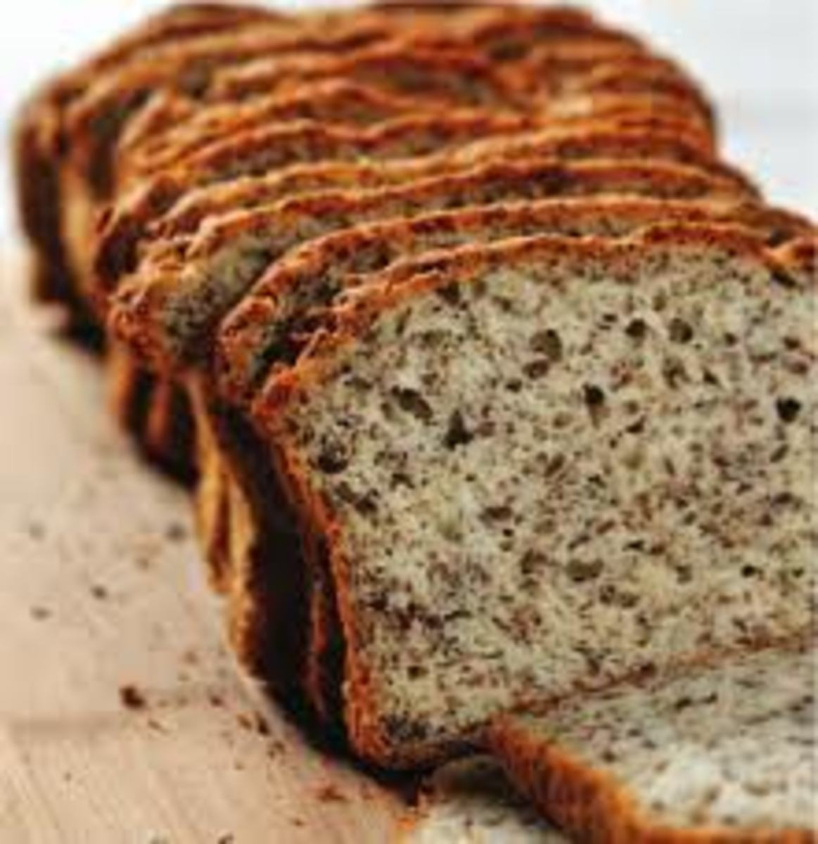 Flax in bread