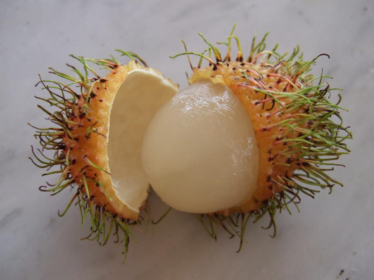 Yellow Skinned Rambutan