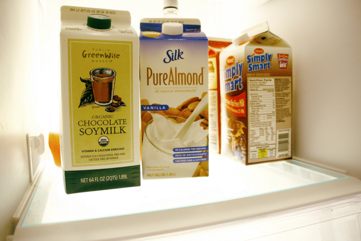 Fill your fridge with delicious alternatives to milk!