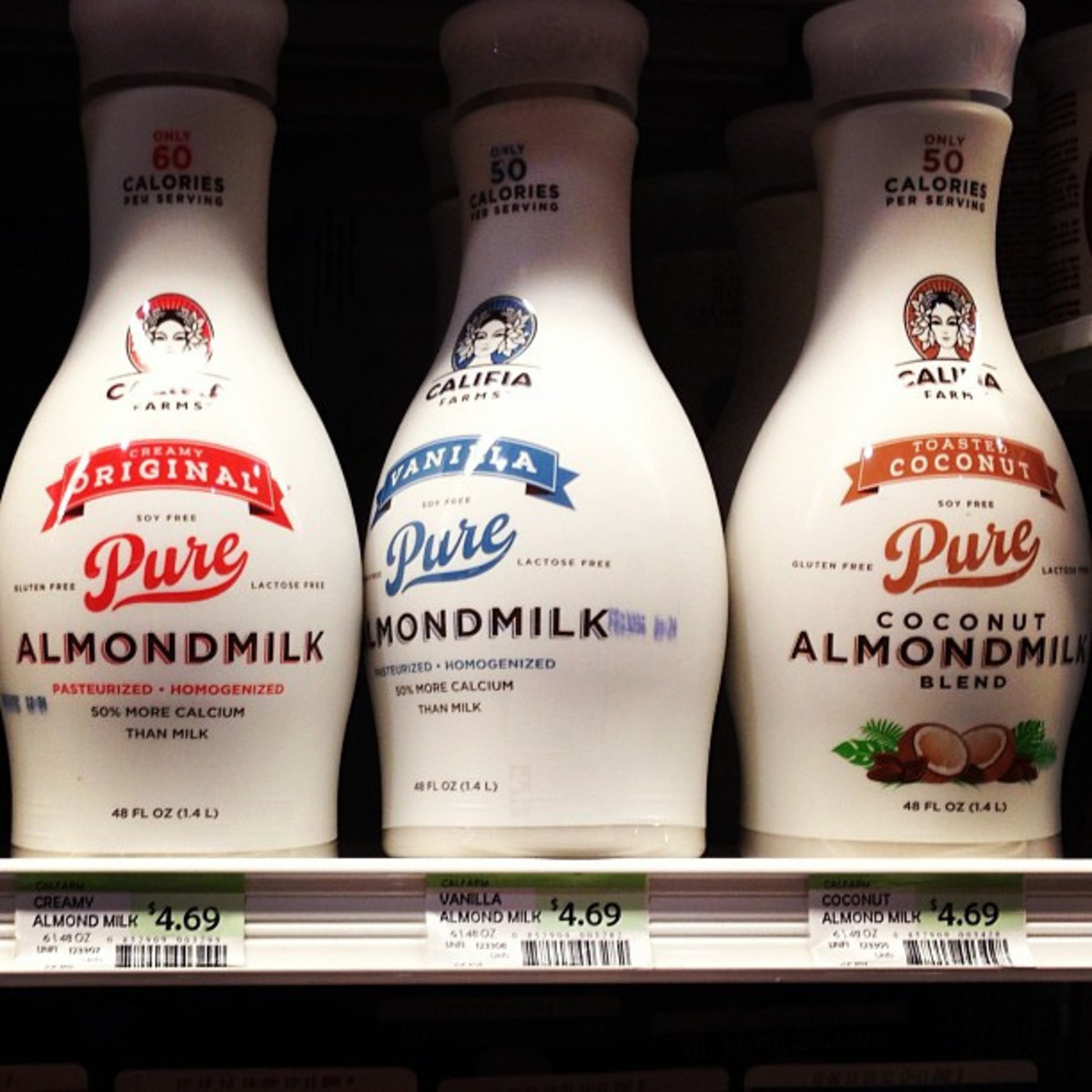 Some milks even mix almonds and coconut together to give you an almost perfect alternative to milk! Yum!