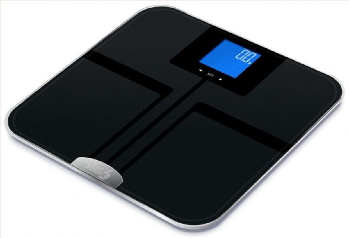 EatSmart Precision GetFit Digital Body Fat Scale. The Ten Best Rated Body Fat Scales for 2017   CalorieBee
