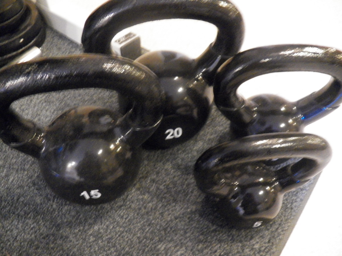 Urethane kettlebells and dumbbells last longer than rubber.