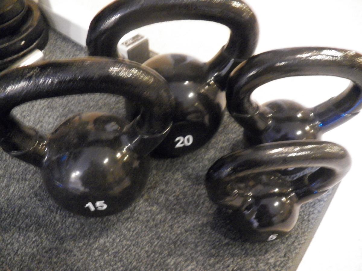Urethane kettlebells and dumbbells last longer than rubber.