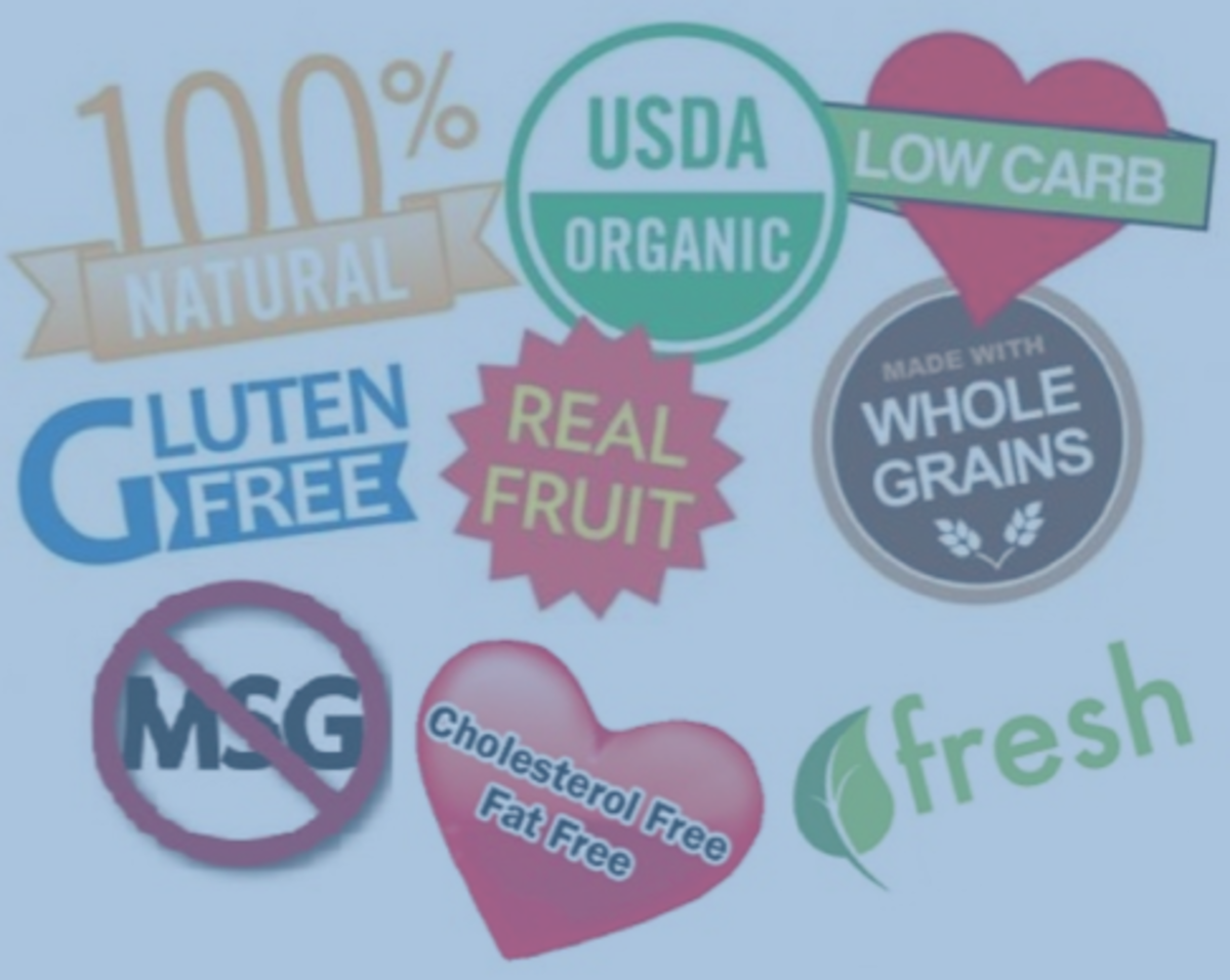 These labels may seem like they point you towards healthy food, but this is not always the case.