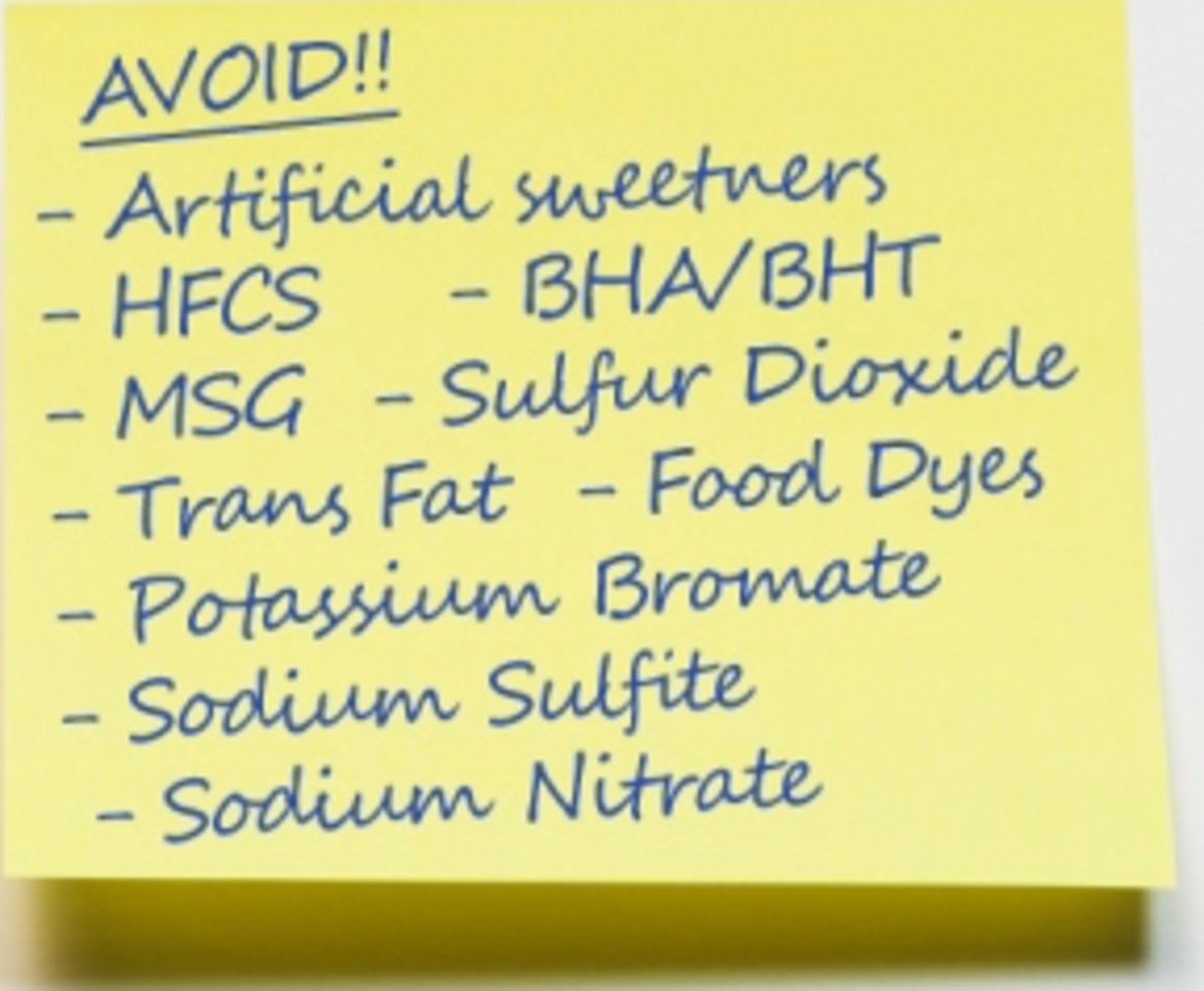 Avoid these controversial and dangerous food additives