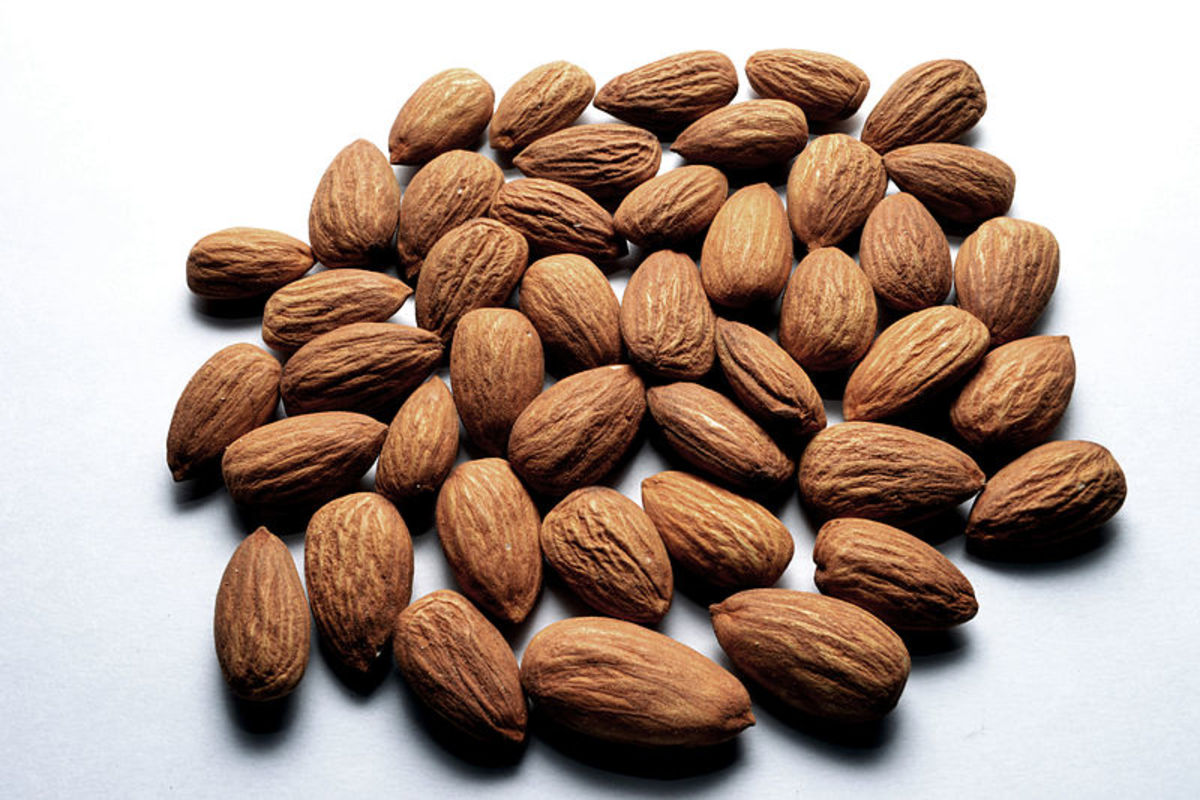 Almonds are an abundant source of Vitamin E.