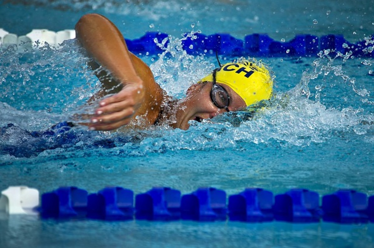 Cardio exercise doesn't always have to be in the form of running or bicycling. Try swimming!