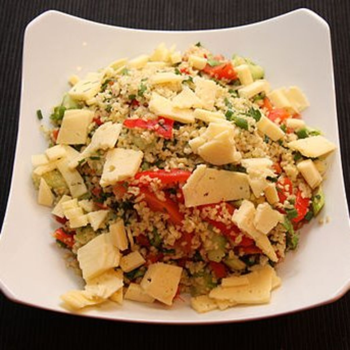 Bulgur Wheat Salad - Delicious!