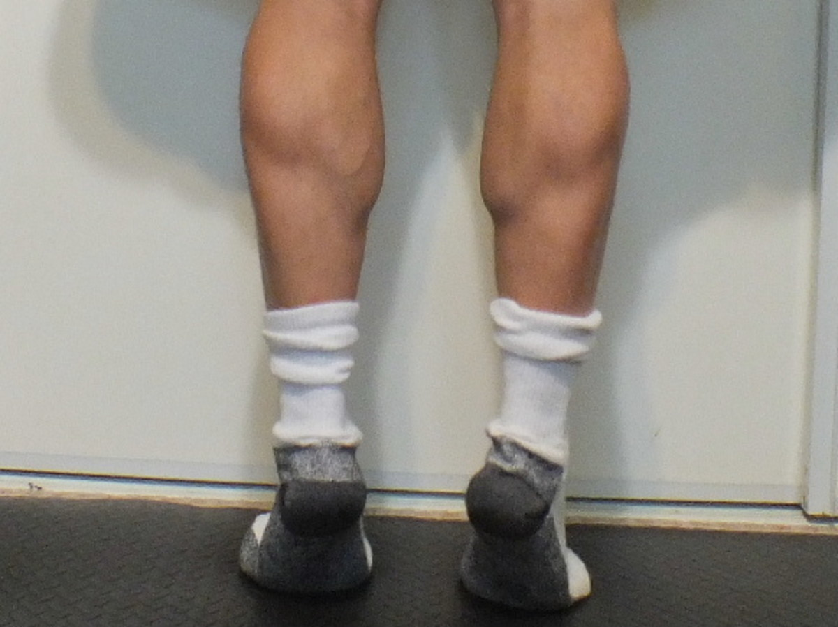 My leg muscles helped me lose fat.