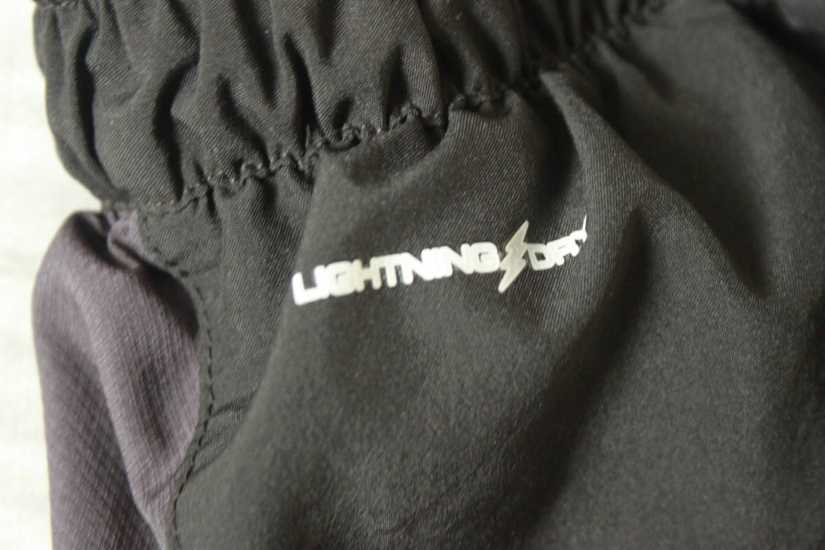 Look for fabrics like coolmax, Nike's Dri-Fit or New Balances Lightning Dry (pictured) for Spartan Race