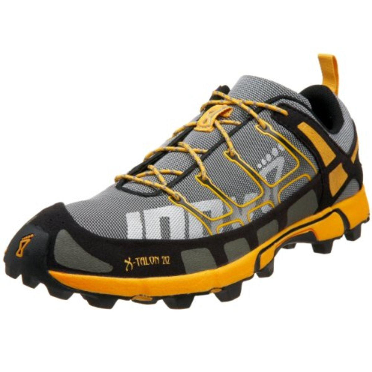 The Inov-8 Talon is a fell running shoe featuring a soft sole made from climbing shoe rubber ideal for grip on obstacles
